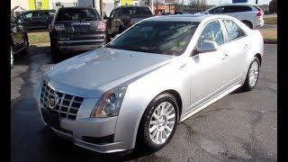 2013 Cadillac CTS Luxury Walkaround, Start up, Tour and Overview
