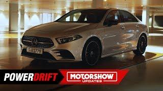 2019 Mercedes A Class Sedan : The Hot and Cool Saloon : PowerDrift