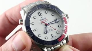 Omega Seamaster 300m Commander's Watch Limited Edition 212.32.41.20.04.001 Luxury Watch Review