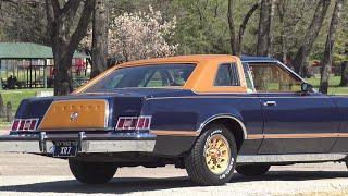1978 Mercury Cougar XR7 Midnight Chamois Decor Grandma survivor low mileage luxury Texas cruiser