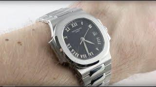 Patek Philippe Nautilus (MID SIZE) 3800/1A-001 Luxury Watch Reviews
