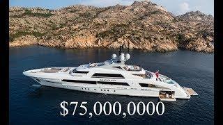 Inside A $75 Million Luxury Mega Yacht - Incredible Rich Lifestyle
