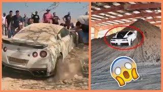 Supercars And Luxury Cars In The WRONG Places (Compilation) !!!