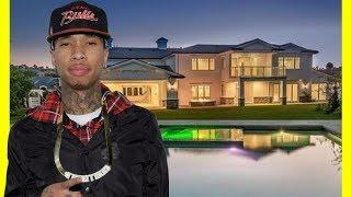 Tyga House Tour $12000000 Hidden Hills Mansion Luxury Lifestyle 2018
