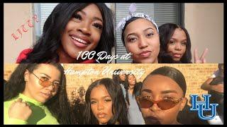 HBCU VLOG: HAMPTON UNIVERSITY 100 DAY CELEBRATION | LUXLIFE