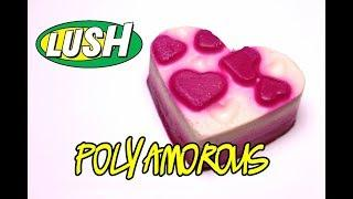 Lush POLYAMOROUS Luxury Bath Oil ???? DEMO & REVIEW Underwater View