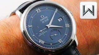 Omega De Ville Prestige Power Reserve (424.13.40.21.03.002) Luxury Watch Video