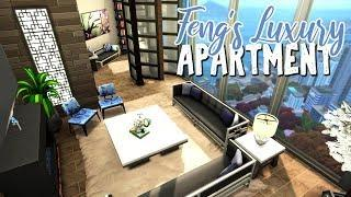 Feng's Luxury Apartment || The Sims 4 Apartment Renovation: Speed Build