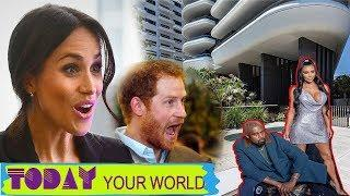 Kim's new $14million luxury Miami condo will cause Meghan and Harry to fall