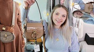 Farfetch Luxury Bag Unboxing ???? CHLOE TESS Unboxing & First Impressions