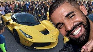 Drake - 60 000 000 $ Super Cars Collection - Private Jet & Houses 2018