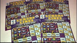 Video 90 - Luxury Lines Scratchcards????