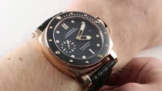 Panerai Luminor Submersible 1950 3-Days PAM 684 Luxury Watch Review