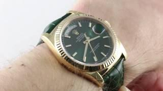 Rolex Day-Date 118138 Luxury Watch Review