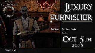 ESO Guide | Luxury Furnisher October 5, 2018 // Zanil Theran