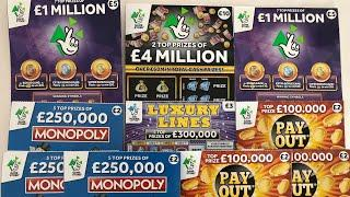 Video 114 - £4Mill Black, Purple £5, Luxury Lines, Monopoly & Payout????