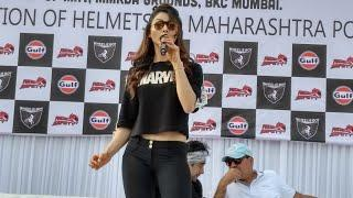 Urvashi Rautela | Ride for safety 2018 | Speech