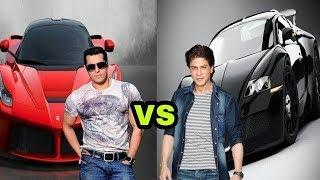 Salman Khan Cars vs Shahrukh Khan Cars (2018)