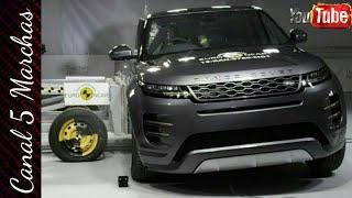 Land Rover Evoque Crash Test