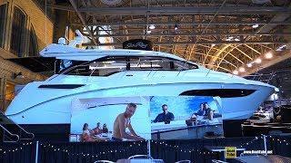 2018 Sea Ray Sundancer 460 Luxury Yacht - Walkaround - 2018 Toronto Boat Show