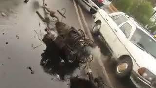 Accident grave à marrakech