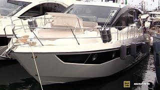 2019 Cranchi 60 HT Luxury Yacht - Deck and Interior Walkaround - 2018 Cannes Yachting Festival