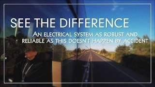 See the Difference: Superior Electronics in a Luxury Coach