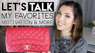 LET'S TALK: MY WEDDING, LUXURY FAVOURITES & STAYING MOTIVATED ♥