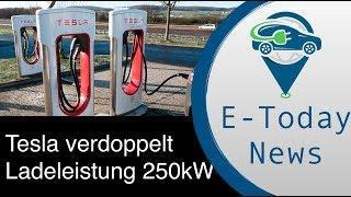 Tesla verdoppelt Supercharger-Ladeleistung I Sion Design veröffentlicht I Genfer Autosalon Feedback