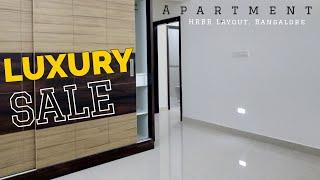 Luxury 2bhk Apartment near Kammanhalli HRBR Layout Bangalore | Video Tour