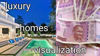 Millionaire luxury lifestyle visualization | Indian money visualization - law of attraction
