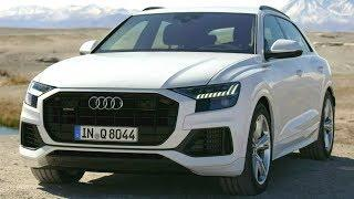 2018 White Audi Q8 - Luxury Coupe with the Practical Versatility of a Large SUV