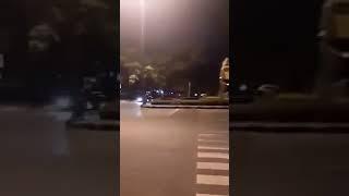 NGEDRIFT DI JALAN RAYA BANDUNG NABRAK SEPEDA MOTOR !!