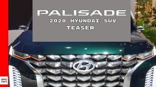 2020 Hyundai Palisade Luxury SUV Teased