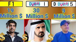 Top 3 Most Expensive Car Number Plate Owners In The World 2018 ✮