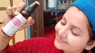Herbal luxury vanya pure himalayan rose water review & demo | benefits of rose water| RARA |