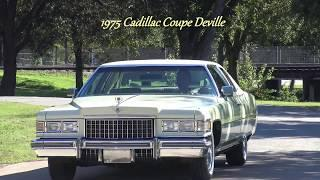 1975 Cadillac Coupe Deville Classic 70s American Luxury Car Samspace81