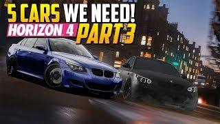5 Cars We Need in Forza Horizon 4 | Part 3
