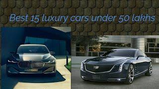 Best 15 luxury cars under 50 lakhs