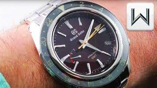 Grand Seiko Spring Drive GMT SBGE245 Limited Edition SS  Sport Collection  Luxury Watch Review