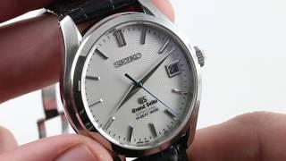 Grand Seiko Hi-Beat SPECIAL SBGH035 Luxury Watch Reviews
