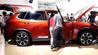 Vinfast SUV Lux SA 2.0 Action Orange | VietNam Motor Show 2019