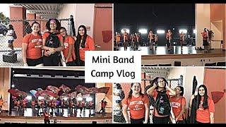 Mini Band Camp Vlog !