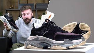 Unboxing The Top 4 Luxury Sneakers Available Now | BALENCIAGA TRIPLE S, GUCCI, PRADA & RAF SIMONS