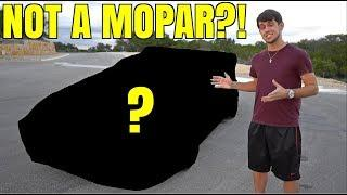 Revealing My NEW CAR (not the original plan)