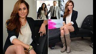 Meghan Markle is seen posing in a luxury gifting suite in 2012