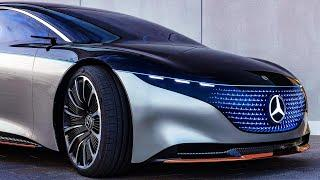 Mercedes Benz Vision EQS (2021) - The Future of Luxury Cars