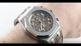Audemars Piguet Royal Oak Offshore Chronograph 26470ST.OO.A820CR.01 Luxury Watch Review