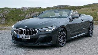 The new BMW 8 Series Convertible | Dravit Grey metallic | Exterior, Interior