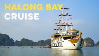 DREAMIEST Ha Long Bay LUXURY CRUISE! Vietnam Travel Vlog